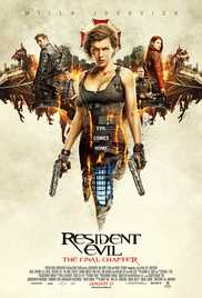 Resident Evil The Final Chapter (2016) (BluRay)